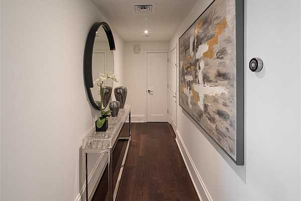 Photo #3 Gallery entry with coat closet.