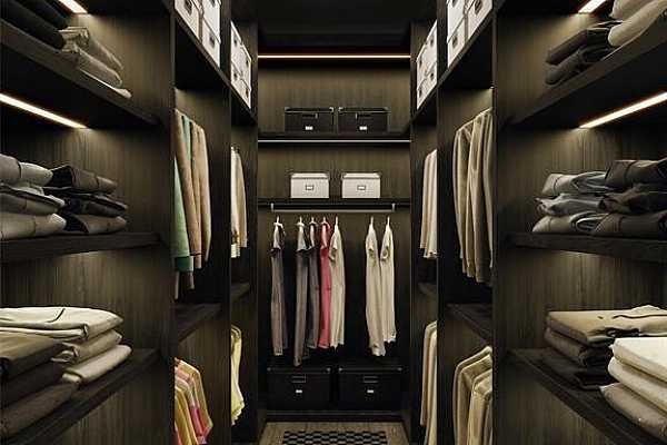 Photo #10 Extra-large primary closets can be completely customized and outfitted by highly-revered Poliform. Rendering shown is an example and may not be representative of this unit.
