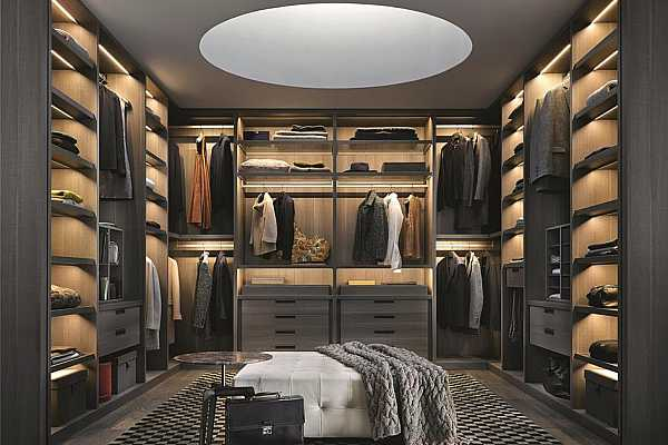 Photo #12 Exquisite primary closets can be completely customized and outfitted by highly-revered Poliform. Rendering shown is an example and may not be representative of this unit.