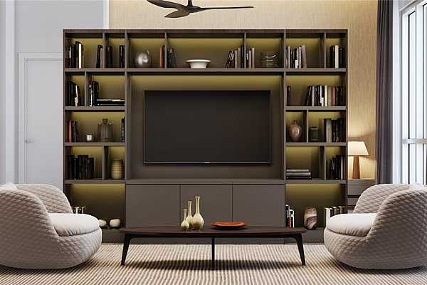 Photo #10 Game/Media Room for Penthouse units. Rendering shown is an example and may not be representative of this unit.