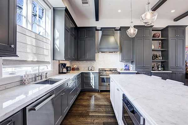 Photo #9 Panning right from second floor landing. Lovely entertaining spaces are a perfect blend of casual yet gracious.