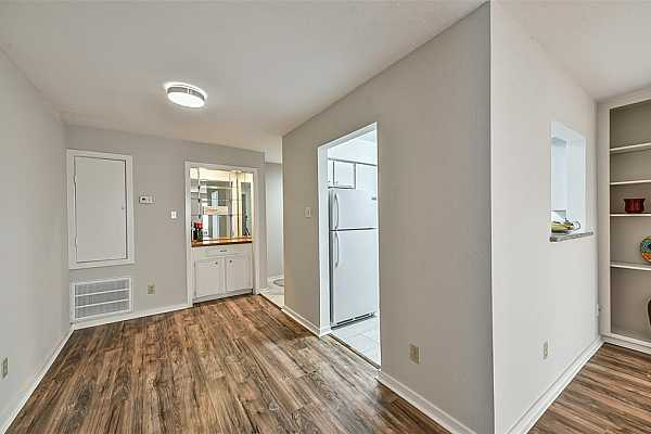 Photo #7 Your dining area is conveniently located across from the kitchen. kitchen