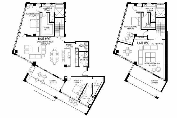 Photo #10 Unit comes with option of adding a 2nd story mezzanine. See documents section for ability to change viewing options of plans
