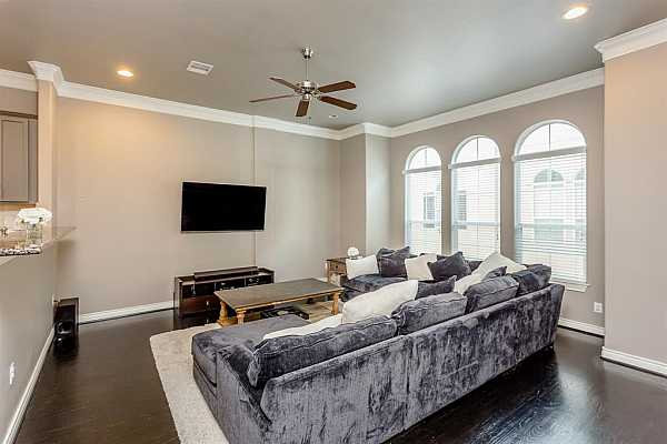 Photo #11 This family room is sure to be the heart of the home!