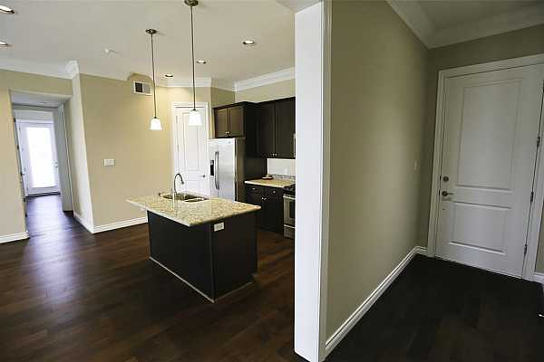 Photo #4 View of kitchen from entry hall