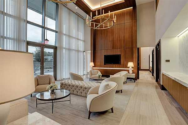 Photo #4 There are multiple gathering spaces for residents to use at their leisure or for private events.