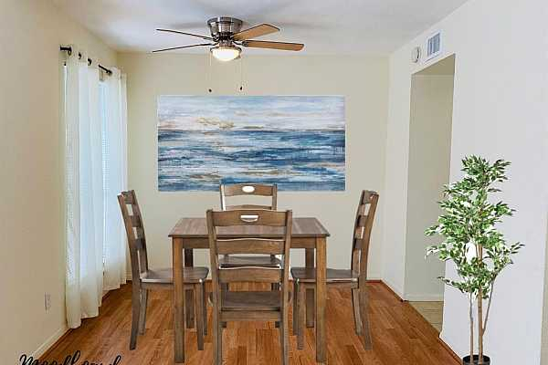 Photo #4 Dining room Ceiling fan 9/2021