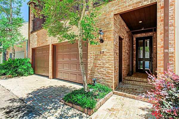 Photo #1 Great opportunity for beautifully remodeled townhome in the exclusive guard gated community of Raintree Place. This wonderful private neighborhood has a 24 hour guard and this townhouse is steps away from the community pool.