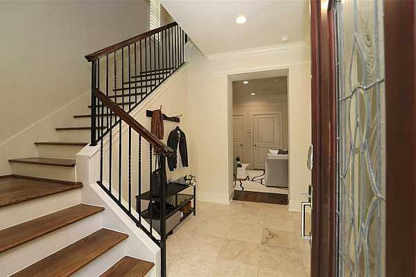 Photo #5 entry way with view into the downstairs den
