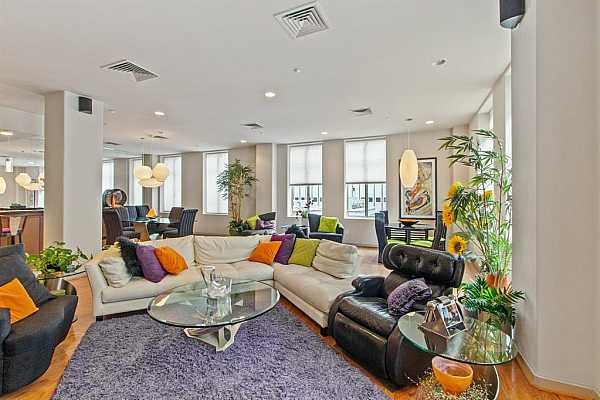Photo #9 Wonderful open concept living space.