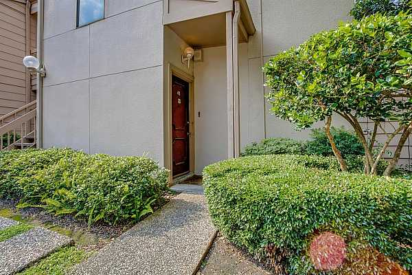 Photo #3 Welcome to 2125 Augusta #43- corner unit with lush landscaping.