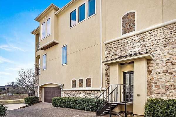 Photo #1 Welcome to Villa Bella Vista!Front corner elevation.No flooding No frozen pipes! No dead landscape.Walk- up wrought iron gate, entrance for guest, and ample parking for guest.No Flooding ever! Ask me about the expansion of the bayou.