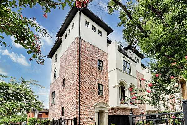 Photo #1 Welcome to 5104A Jackson!  This gorgeous townhome is just one of 4 in this gated community, located in one of Houston