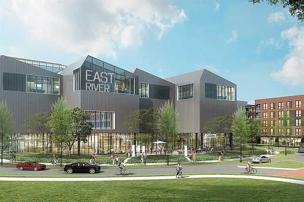 Photo #10 The East River Project is underway! Commerce Row is a great location, near the East River and the heart of Eado!