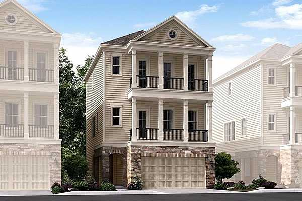 """Photo #1 NEW!  Lennar Skyline Collection """"Zenith"""" Plan wtih Stone Elevation """"B"""" in Upland Preserve!"""