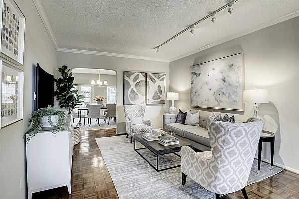 Photo #4 Great floorplan with large Living and Dining Rooms.