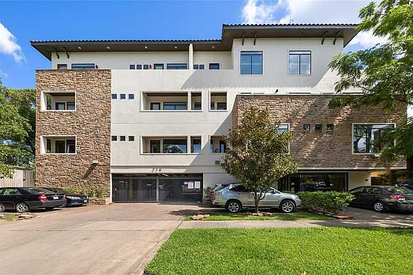 Photo #1 Lovett Place is located on a tree-lined boulevard just steps away from dozens of Houston