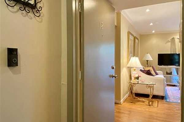 Photo #3 The main entrance of unit #12 is at the end of your own private hallway