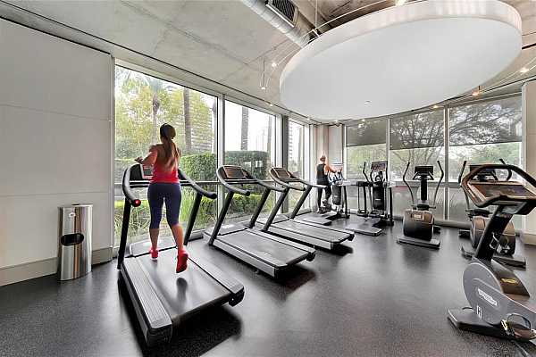 Photo #6 Embrace healthy living in the AC with an excellent exercise area!