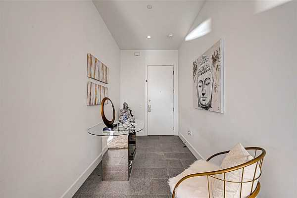 Photo #1 Gourmet Kitchen overlooking River Oaks District, Wolf and Sub Zero appliances, full size wine cooler, fabulous refrigeration in under counter drawers, self closing kitchen drawers, sealed porcelain counters.