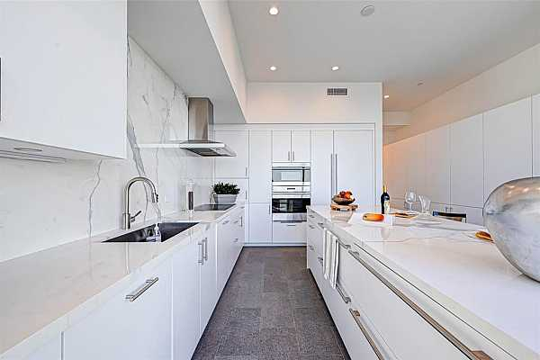 Photo #4 Beautiful master bedroom with wood floors. East view. This image has been virtualy staged