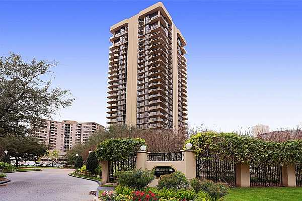 Photo #1 The Bristol is a full service, 27 story condominium located in the Galleria area and within walking distance to Houston