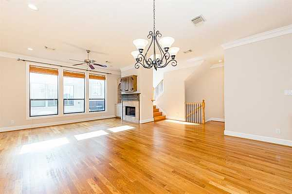 Photo #8 Open concept living and dining