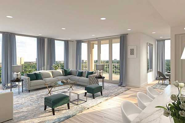 Photo #6 Soaking in natural light and the very best in finishes and features, your home is certainly intended to be an oasis of tranquility and refinement. Offering the very best city views--Uptown, Tanglewood, sunrises, and sunsets--do not wait to pick your view today!